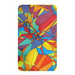 Colorful Miscellaneous Shapes Memory Card Reader (rectangular) by LalyLauraFLM