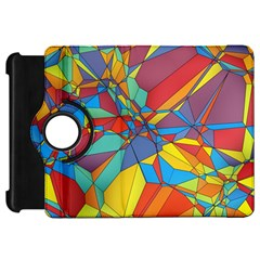 Colorful Miscellaneous Shapes Kindle Fire Hd Flip 360 Case by LalyLauraFLM