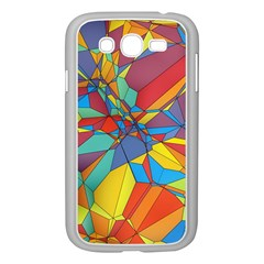 Colorful Miscellaneous Shapes Samsung Galaxy Grand Duos I9082 Case (white) by LalyLauraFLM