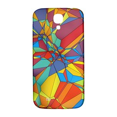 Colorful Miscellaneous Shapes Samsung Galaxy S4 I9500/i9505  Hardshell Back Case by LalyLauraFLM