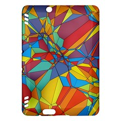 Colorful Miscellaneous Shapeskindle Fire Hdx Hardshell Case by LalyLauraFLM