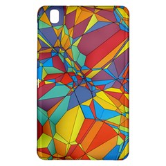 Colorful Miscellaneous Shapes	samsung Galaxy Tab Pro 8 4 Hardshell Case by LalyLauraFLM