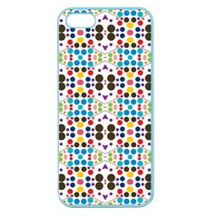 Colorful Dots Pattern Apple Seamless Iphone 5 Case (color) by LalyLauraFLM
