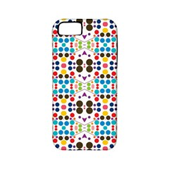 Colorful Dots Pattern Apple Iphone 5 Classic Hardshell Case (pc+silicone) by LalyLauraFLM