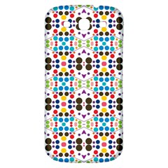 Colorful Dots Pattern Samsung Galaxy S3 S Iii Classic Hardshell Back Case by LalyLauraFLM