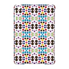 Colorful Dots Pattern Apple Ipad Mini Hardshell Case (compatible With Smart Cover) by LalyLauraFLM
