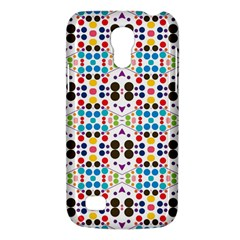 Colorful Dots Pattern Samsung Galaxy S4 Mini (gt I9190) Hardshell Case  by LalyLauraFLM