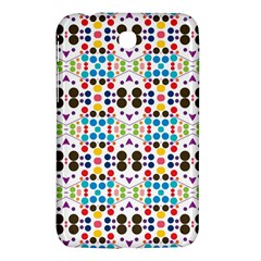 Colorful Dots Pattern Samsung Galaxy Tab 3 (7 ) P3200 Hardshell Case  by LalyLauraFLM