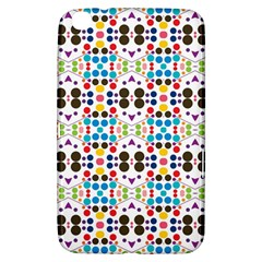 Colorful Dots Pattern Samsung Galaxy Tab 3 (8 ) T3100 Hardshell Case  by LalyLauraFLM