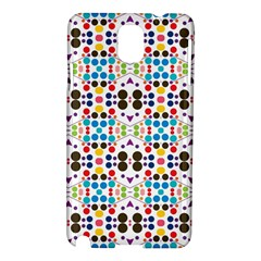 Colorful Dots Pattern Samsung Galaxy Note 3 N9005 Hardshell Case by LalyLauraFLM