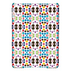 Colorful Dots Pattern Apple Ipad Air Hardshell Case by LalyLauraFLM