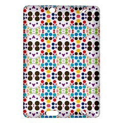 Colorful Dots Pattern Kindle Fire Hd (2013) Hardshell Case by LalyLauraFLM