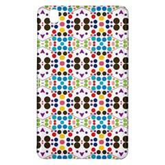 Colorful Dots Pattern	samsung Galaxy Tab Pro 8 4 Hardshell Case by LalyLauraFLM