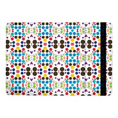 Colorful Dots Pattern	samsung Galaxy Tab Pro 10 1  Flip Case