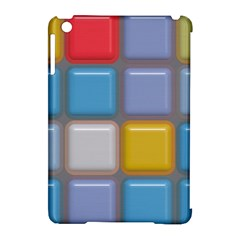 Shiny Squares Pattern Apple Ipad Mini Hardshell Case (compatible With Smart Cover) by LalyLauraFLM
