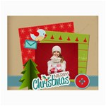 xmas - Small Glasses Cloth (2 Sides)