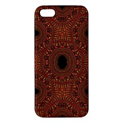 Crazy Beautiful Abstract  Apple iPhone 5 Premium Hardshell Case by OCDesignss