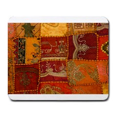 India Print Realism Fabric Art Large Mousepads by TheWowFactor