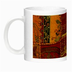 India Print Realism Fabric Art Night Luminous Mugs by TheWowFactor