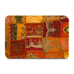 India Print Realism Fabric Art Plate Mats by TheWowFactor