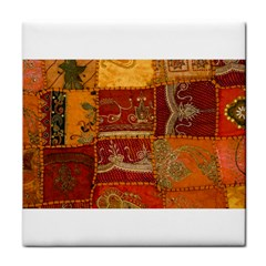 India Print Realism Fabric Art Face Towel by TheWowFactor