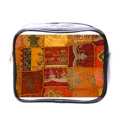 India Print Realism Fabric Art Mini Toiletries Bags by TheWowFactor