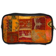 India Print Realism Fabric Art Toiletries Bags 2 Side by TheWowFactor