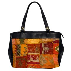 India Print Realism Fabric Art Office Handbags (2 Sides)  by TheWowFactor