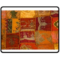 India Print Realism Fabric Art Fleece Blanket (medium)  by TheWowFactor