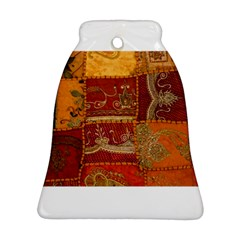 India Print Realism Fabric Art Ornament (bell)  by TheWowFactor