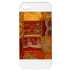 India Print Realism Fabric Art Apple Iphone 5 Hardshell Case by TheWowFactor