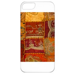 India Print Realism Fabric Art Apple Iphone 5 Classic Hardshell Case by TheWowFactor