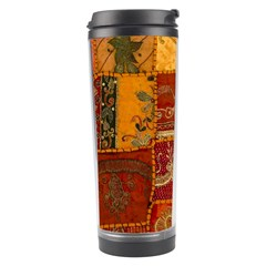 India Print Realism Fabric Art Travel Tumblers by TheWowFactor