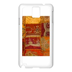 India Print Realism Fabric Art Samsung Galaxy Note 3 N9005 Case (white) by TheWowFactor