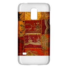 India Print Realism Fabric Art Galaxy S5 Mini by TheWowFactor