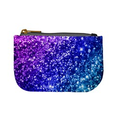 Glitter Ocean Bokeh Mini Coin Purses by KirstenStar