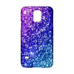 Glitter Ocean Bokeh Samsung Galaxy S5 Hardshell Case  by KirstenStar