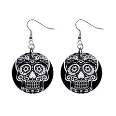 Skull Mini Button Earrings by ImpressiveMoments