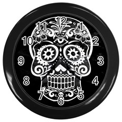 Skull Wall Clocks (black)