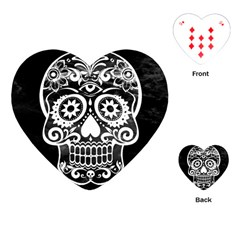 Skull Playing Cards (heart)  by ImpressiveMoments