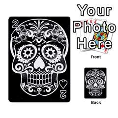 Skull Playing Cards 54 Designs