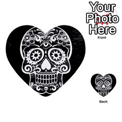 Skull Multi-purpose Cards (Heart)