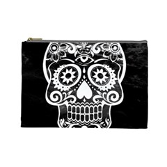 Skull Cosmetic Bag (large)  by ImpressiveMoments