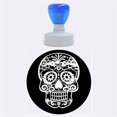 Skull Rubber Round Stamps (large) by ImpressiveMoments