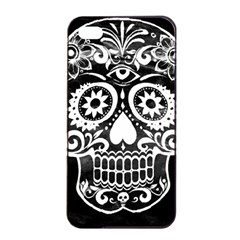 Skull Apple Iphone 4/4s Seamless Case (black) by ImpressiveMoments