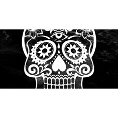 Skull You Are Invited 3d Greeting Card (8x4)  by ImpressiveMoments