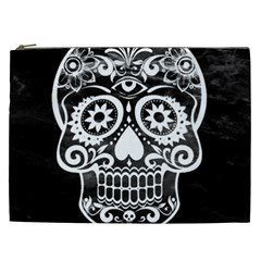 Skull Cosmetic Bag (xxl)  by ImpressiveMoments