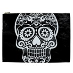 Skull Cosmetic Bag (XXL)  Front