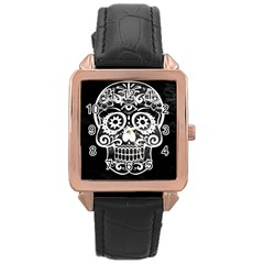 Skull Rose Gold Watches by ImpressiveMoments