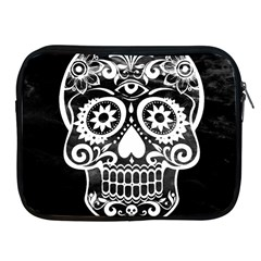 Skull Apple iPad 2/3/4 Zipper Cases by ImpressiveMoments